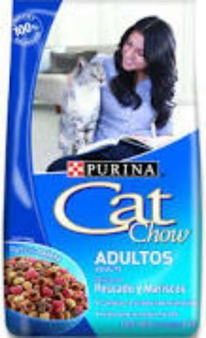 Purina Cat Chow Pescado O Carne X 15 Kg + Envío Gratis !!