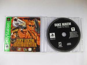 Vgl - Duke Nukem Time To Kill - Playstation 1