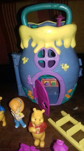Casita De Juguete Disney Pooh Con Muñecos Y Accesorios