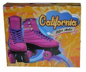 Educando Patines Bota 4 Ruedas California Rollers T38