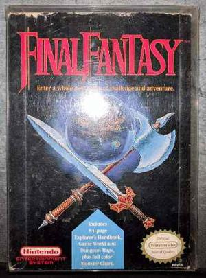 Final Fantasy - Nintendo Nes
