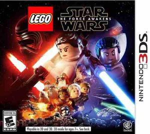 Lego Star Wars The Force Awakens Nintendo 3ds Dakmor