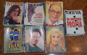 Lote de revistas NUEVA, 475 números, muy buen estado,