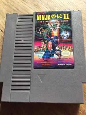 Ninja 2 The Dark Word Of Chaos Nintendo Nes