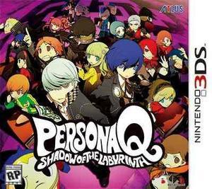Persona Q Shadow Of The Labyrinth Nuevo Nintendo 3ds Dakmor
