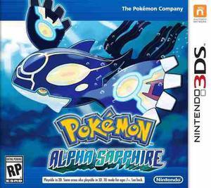 Pokemon Alpha Sapphire 3ds Nuevo Fisico Sellado Gamebox