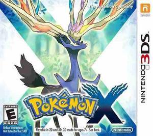 Pokemon X 3ds Nuevo Fisico Sellado Gamebox