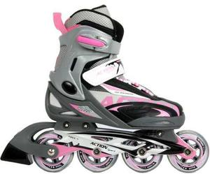 Rollers Profesionales Patines Action 100% Calidad Superior