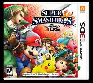 Super Smash Bros. 3ds Nuevo!! Original