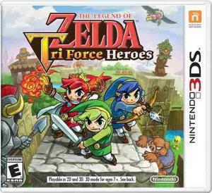 The Legend Of Zelda | Tri Force Heroes | Nintendo 3ds | Tg