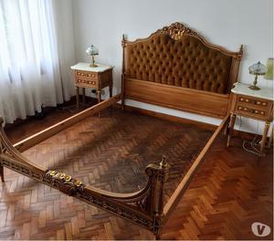 Vendo hermoso juego de dormitorio estilo Luis XVI