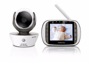 Baby Call Monitor Bebe C/video Camara Wifi Motorola Mbp853