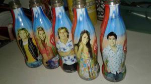Colección Botellas Coca Cola Casi Angeles