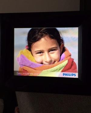 Portaretrato Digital Phillips 7'' Casi Sin Uso Impecable!!