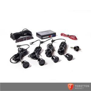 Sensor De Estacionamiento Con Display Y Sonido - Negro