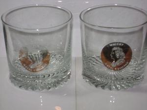 Vasos De Whisky De Coleccion Royal Command Rettro