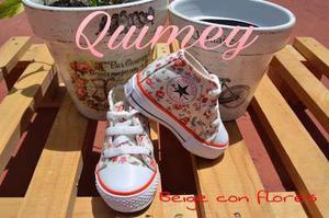 Zapatillas De Bebé Lona Talles 16 Al 26