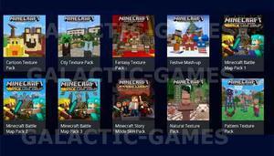 Dlc Pack 10 Dlc Para Minecraft -no Incluye Juego- Ps3 2-3
