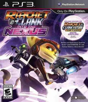 Juego Ps3 - Ratchet And Clank: Into The Nexus Formato Fisico