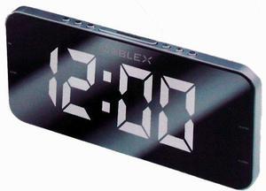 Noblex Rj980pll Radio Reloj Despertador Am/fm Led 1.8 Slim