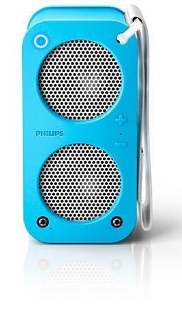 Parlante Philips Br-1x Sb5200 Bluetooth 10w Azul Sb5200a/77