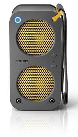 Parlante Philips Br-1x Sb5200 Bluetooth 10w Gris Sb5200g/77