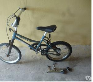 Bicicleta usada Rodado 14 con rueditas en La Plata