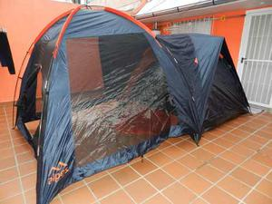Carpa Alpes Iglu 4 Personas +comedor C/mosquitero 450x240cm