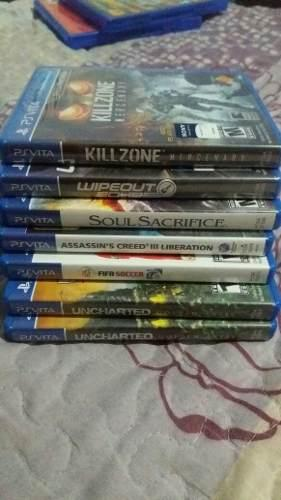 Lote 7 Juegos Fisicos Sony Ps Vita Usados Y Sellados Permuto