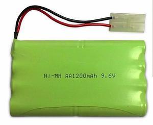 Bateria 9,6v Aa 1200mah Automodelismo Juguetes Pack Bateria