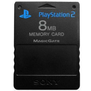 Play Station 2 Memory Card 8 Mb Nueva En Blister