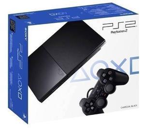 Playstation 2 Chipeada + 2 Joysticks + Memory 8mb + 10juegos