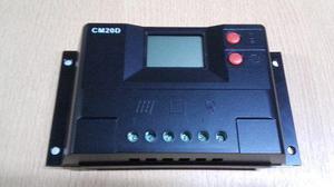 Regulador Solar De 12v 20a Y 24v Para Panel Con Display Usb
