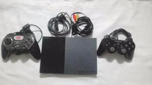 Vendo Playstation 2 Con 2 Joysticks Y 27 Juegos