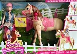 Barbie Saddle N Ride Horse, Barbie Monta Su Caballo