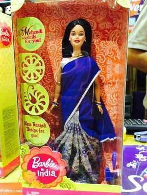 Barbies Indias Con Saari!! Original De Mattel