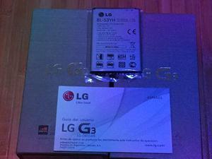 Bateria Lg G3 Bl-53yh 100 % Original D855, Nueva Sellada