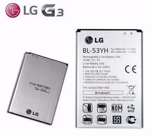 Bateria Lg G3 Optimus D855 Bl-53yh Original Garantia