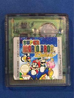 Juego Game Boy Color - Super Mario Bros Deluxe