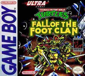 Juego Ninja Turtles Fall Of The Foot Clan Nintendo Gameboy