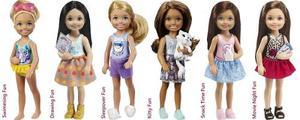 Muñeca Barbie Chelsea - Kelly 6 Modelos Original Mattel