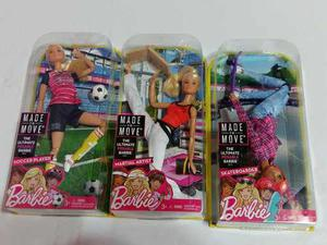 Nuevas Barbie Made To Move Original