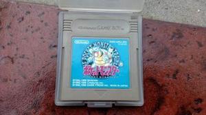 Pokemon Pocket Monsters Blue Orig Gameboy, Color Y Gba. Kuy