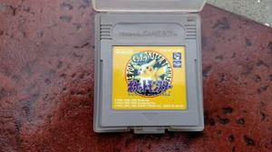 Pokemon Pocket Monsters Yellow Orig Gameboy, Color Y Gba Kuy