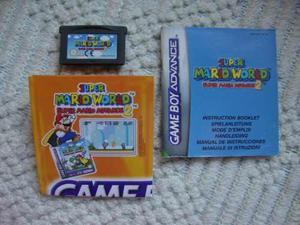 Supermario World Advance 2 Para Game Boy Advance C/manuales