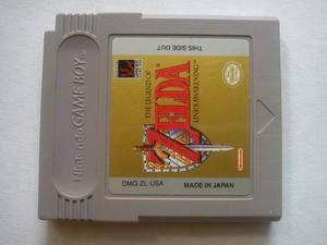 The Legend Of Zelda Link's Awakening Original Gameboy