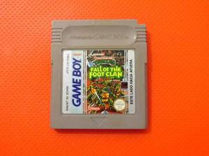 Tmnt Fall Of The Foot Clan Original Nintendo Game Boy