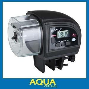 Alimentador Automático Para Peces A Pilas - Aqua Virtual