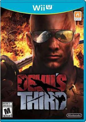 Devil's Third Fisico Wii U Nuevo Sellado Ntsc