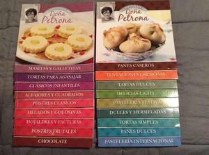 Lote 18 Libros De Cocina Doña Petrona